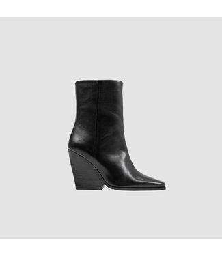 BRONX Ankle Boots  MALIBOO-WEDGE, Black