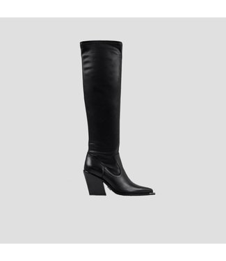 BRONX Boots Long NEW-KOLE HIGH STRETCH, Black