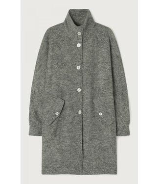 American Vintage Coat AZI17B, Grey melange