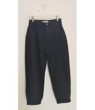 Jeans slouchy, Black