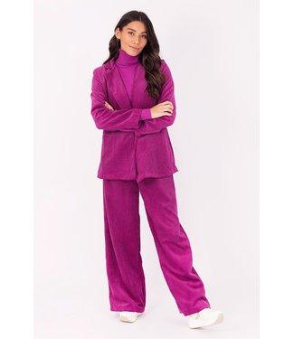 Blazer corderoy, Purple