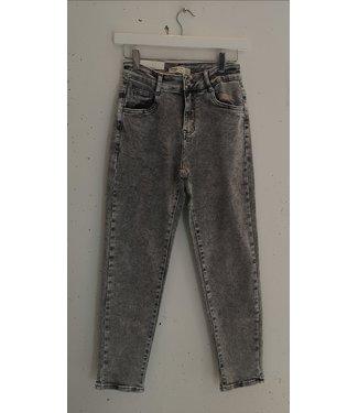 Jeans mom fit denim, Vintage grey