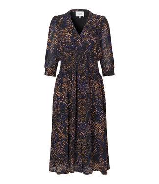 Second female Dress Florette midi, Black