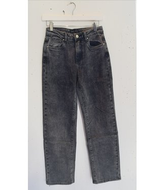 Jeans straight fit, Vintage grey