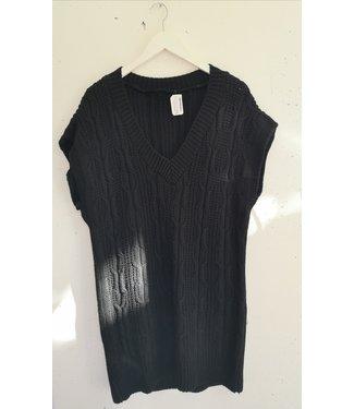 Spencer dress knitted, Black