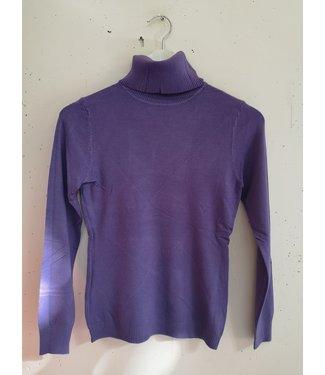 Longsleeve  col, Purple