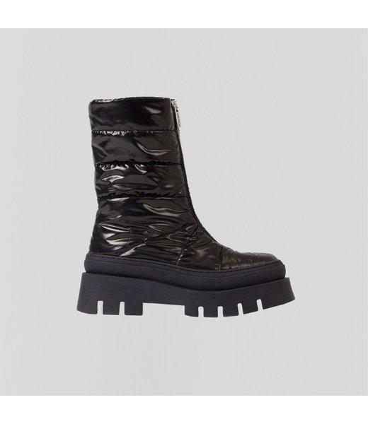BRONX Boots EVI-ANN, Black parachute