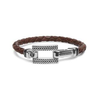 Buddha to Buddha Galang Leather Armband