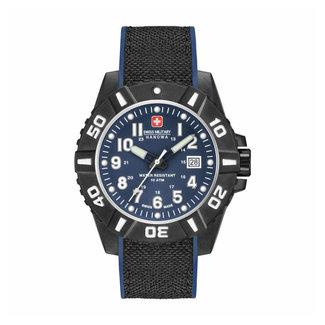 Swiss Military Hanowa Black Carbon Herenhorloge 06-4309.17.003