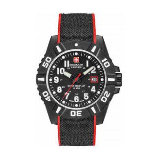 Swiss Military Hanowa Black Carbon Herenhorloge 06-4309.17.007.04