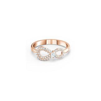 Swarovski Infinity ring