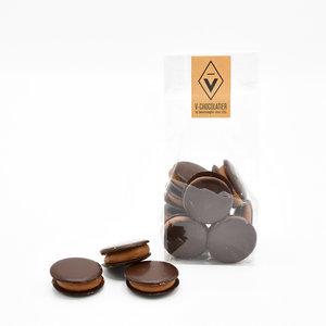 'Galetjes' pure chocolade 100 gr