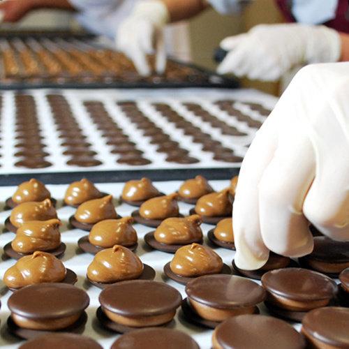 'Galetjes' melkchocolade 250 gr