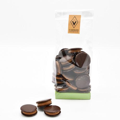 'Galetjes' pure chocolade 250 gr