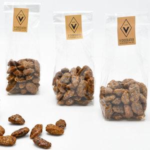 'Gekarameliseerde amandels' 100 gr