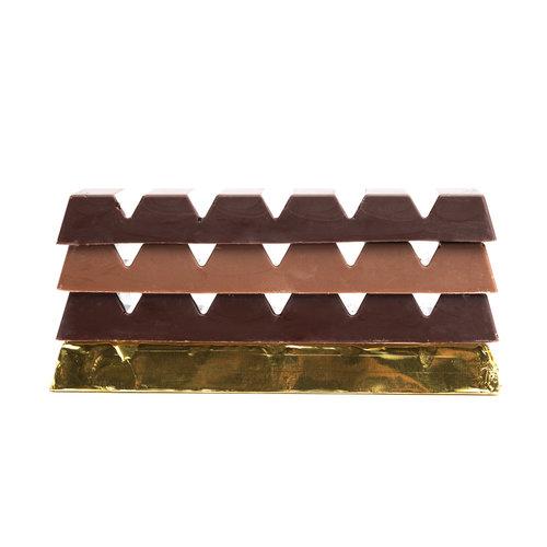 Chocoladereep 'melkchocolade met hazelnoten'
