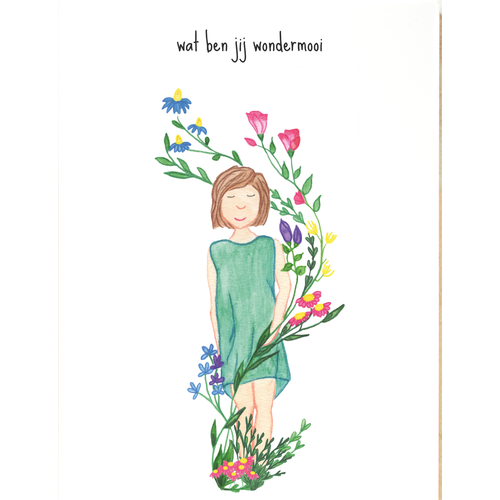 'wat ben jij wondermooi'