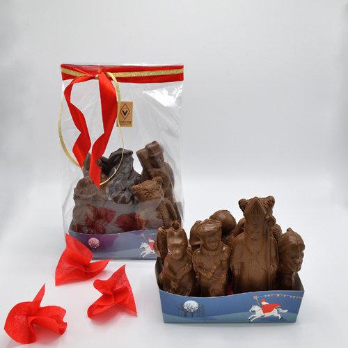 Melkchocolade holfiguren 500 gr