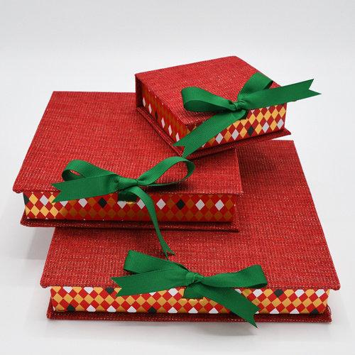 Cosy red geschenkdoos