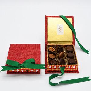 Cosy red geschenkdoos - klein