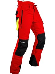 Pfanner Gladiator II Schnittschutzhose rot