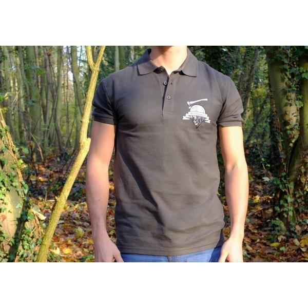 Kiefernrausch Poloshirt in tollem Grau