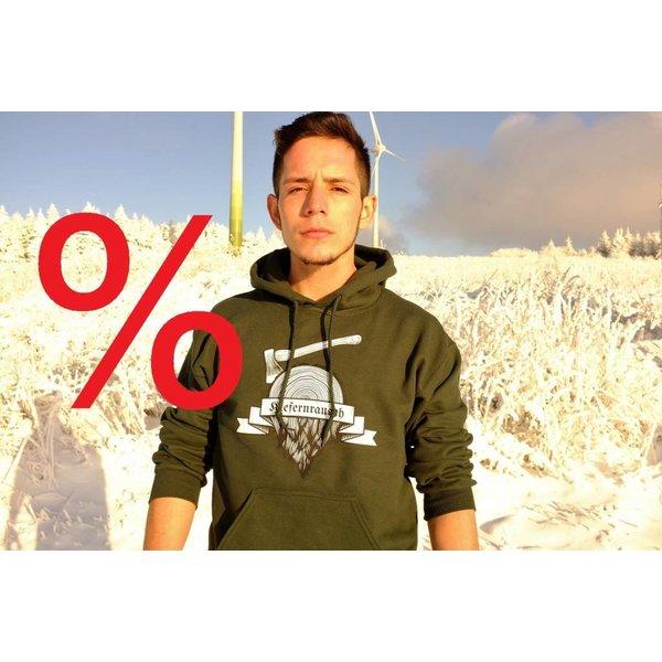 Kiefernrausch Paket: Kapuzenshirt mit 2 T-Shirts