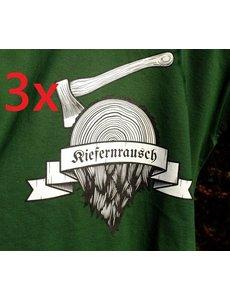 Kiefernrausch 3er Paket T-Shirts