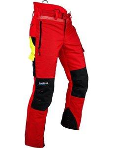 Pfanner Ventilation Schnittschutzhose in rot