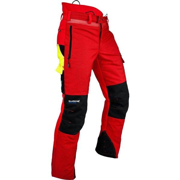 Pfanner Pfanner Ventilation Schnittschutzhose in Farbe rot