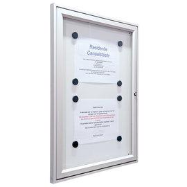 Wandvitrine Tradition (A1)75x105 cm 29 mm  dik De VVE vitrine