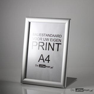 Baliebordje A4 standaard met Kliklijst huismerk