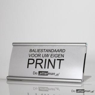 Baliebordje systeem P 10.4x21 cm voor eigen print