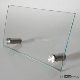 Baliebord gebogen glas COMPLEET