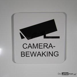 Camerabewaking metaalbord