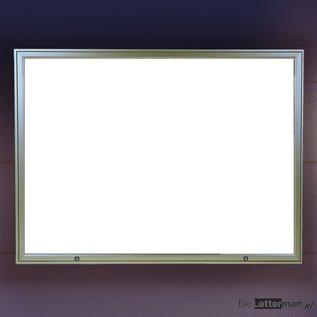 Wandvitrine Classic 133x108cm  58 mm dik A0 formaat