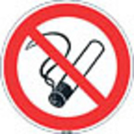 Niet roken sticker 60 cm
