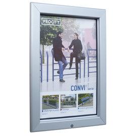 Posterlijst buiten 50x70 cm. spatwaterdicht en afsluitbaar
