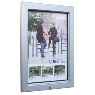 Posterlijst buiten 70x100 cm. spatwaterdicht en afsluitbaar