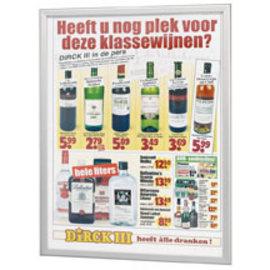 Posterlijst, Kliklijst A2 20mm  poster 42 x 59.4 cm