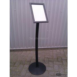 Zwarte standaard voor A3 print 29.7x42 cm