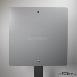 Parkeerbord op paal blanco voor uw sticker