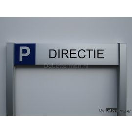 Parkeerbord Directie Budgetframe