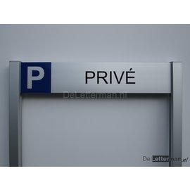 Parkeerbord Prive Budgetframe