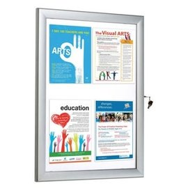 Postervitrine in budget model A1 66.4x91 cm