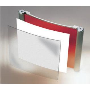 Deurbordje aluminium 10.4x6 cm voor eigen print