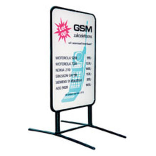 Stoepbord Super reclamebord voor vaste tekst