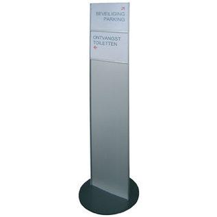 Standaard Sjiek Smal infopaneel-wegwijzer