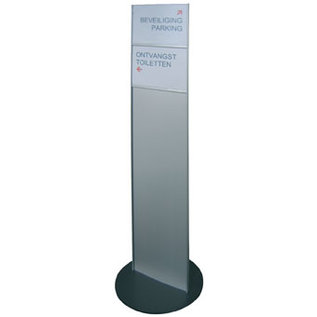 Standaard Sjiek Breed infopaneel-wegwijzer