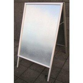 Stoepbord budget klik 70x100 cm papiermaat B1